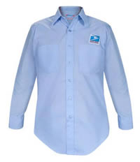 Men's USPS Letter Carrier Long Sleeve Shirt