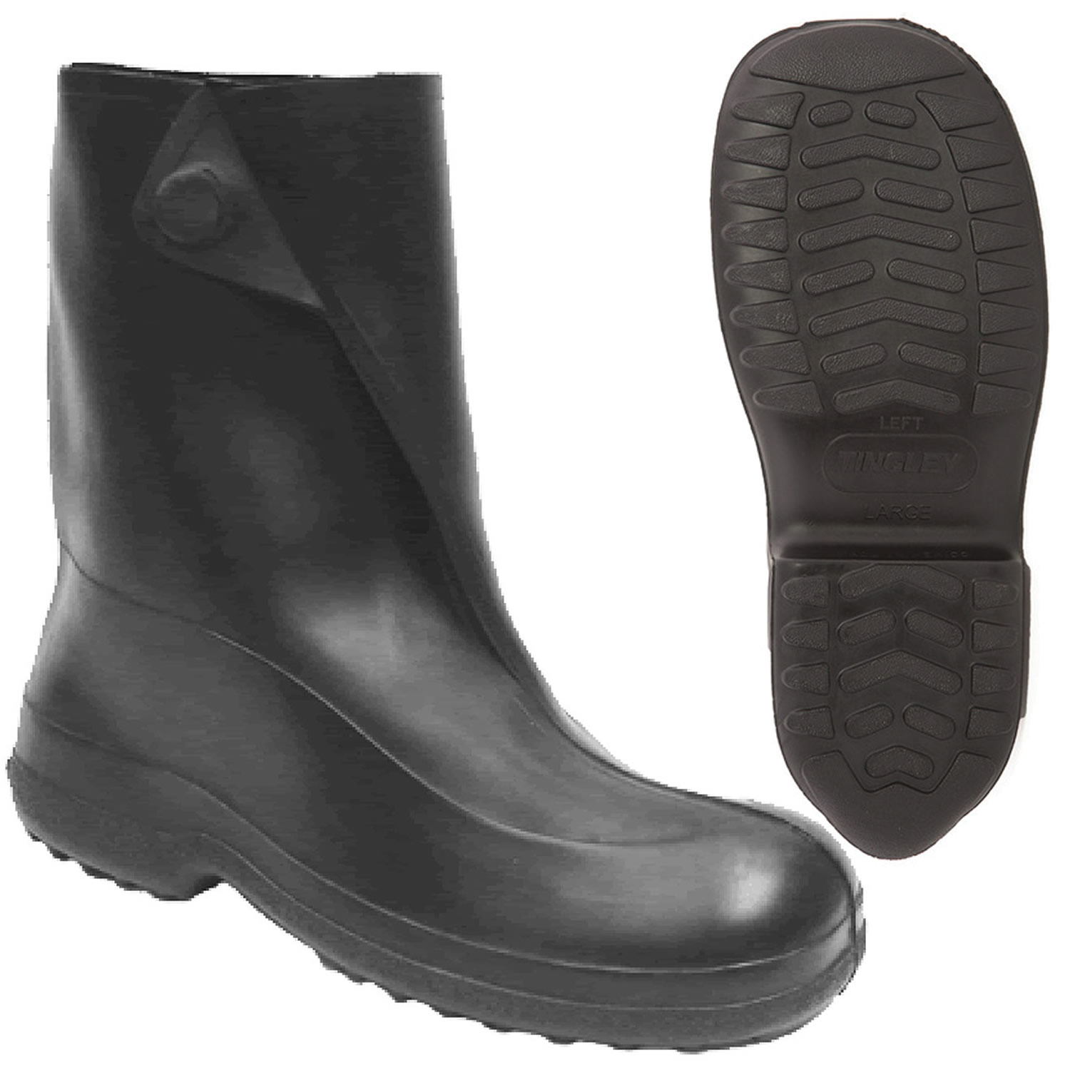 Men S 10 In Tingley Rubber Overshoe Boot