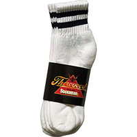 White Thorogood CoolMax Ankle Length Sock