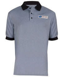 Men's Postal Retail Clerk Knit Polo Shirt