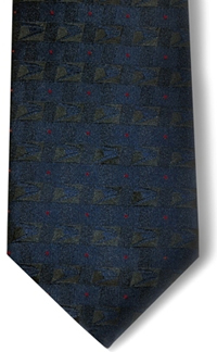 Men's Postal Retail Clerk Four-In-Hand Tie